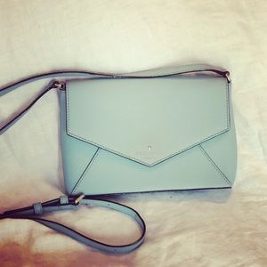 Kate spade blue Monday Crossbody purse